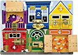 Melissa & Doug- Tablero de pestillos, Multicolor (13785)